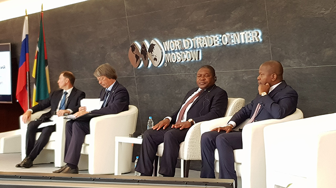 Российско-мозамбикский бизнес-форум с участием Президента Республики Мозамбик
