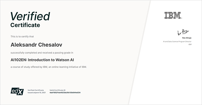 Introduction to Watson AI